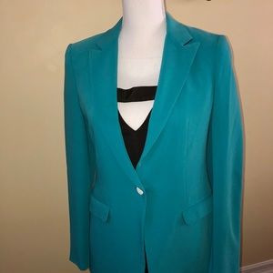 Rag & Bone fitted turquoise blazer size 2
